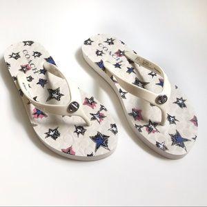 Coach || Abbigail Turnlock Flip Flip Sandal Size 7